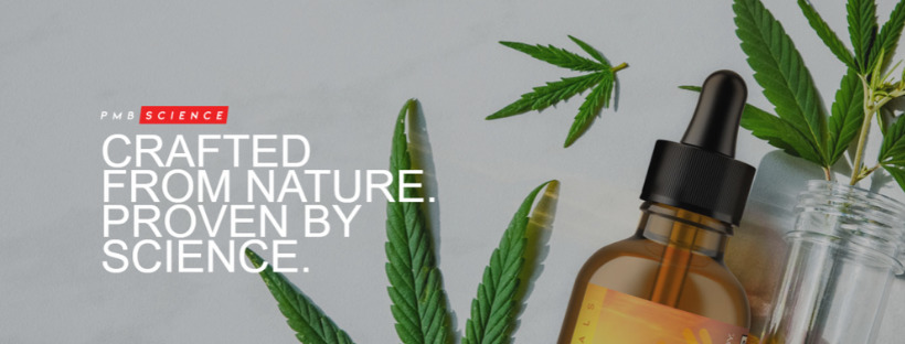 PMB Science — Crafted by Nature. Proven by Science banner